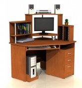 Угловой компьютерный стол С 215CD