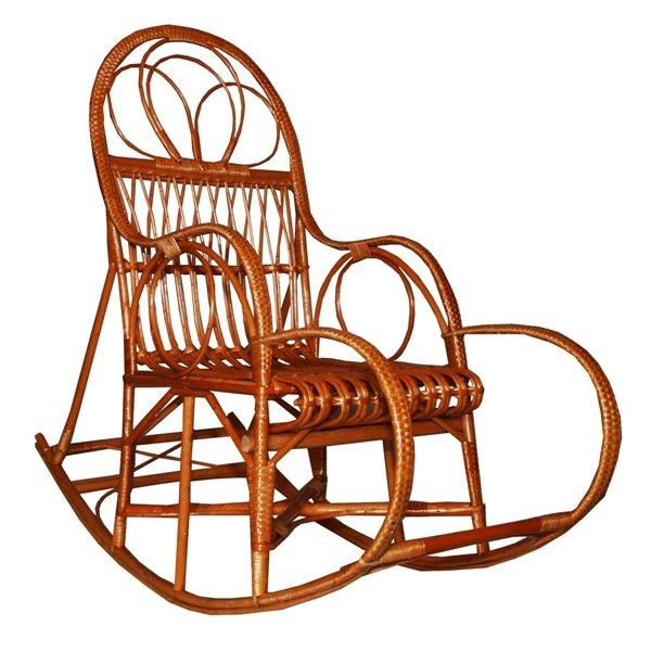 Кресла качалки из лозы чертежи