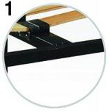 Каркас на ламелях с ножками  СТАНДАРТ ПЛЮС - усиленный  другие фото