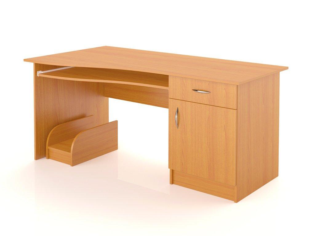 Широкий компьютерный стол sк-12 - кремез.
