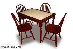 Стол СТ3045 и стулья Winzor  другие фото