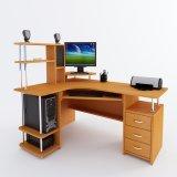 Угловой компьютерный стол  С 224  другие фото