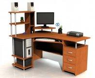 Угловой компьютерный стол  С 224 - левый