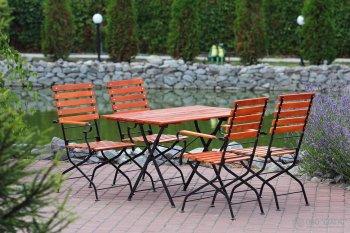 Раскладная мебель для открытых террас кафе и ресторанов купить