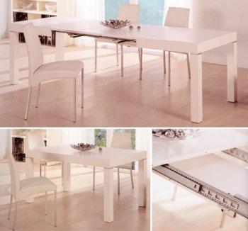 Стол раскладной до 2,6м с тремя вставками В2257 купить
