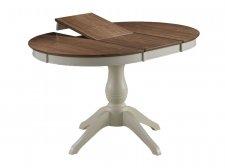 Круглый раскладной стол Jupiter bianco