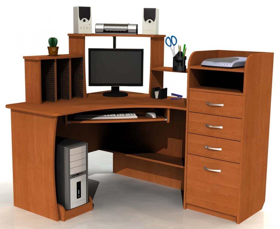 Компьютерный стол фото своими руками