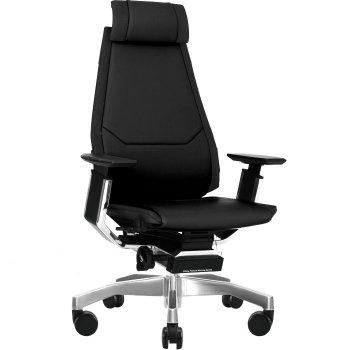 Кожаное компьютерное кресло GENIDIA LUX купить