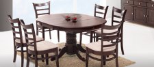 Кухонный комплект Круглый стол (раскладной) + стулья